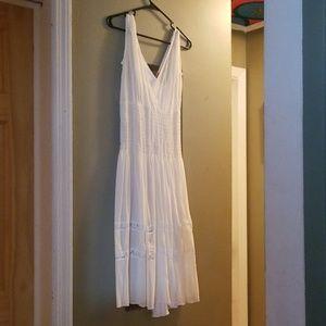 Off white beachy dress